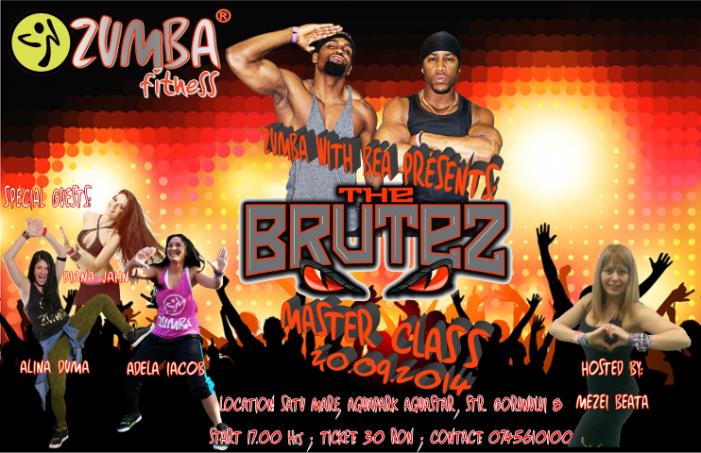 """Zumba party cu americanii de la """"The Brutez"""", săptămâna viitoare, la Satu Mare"""
