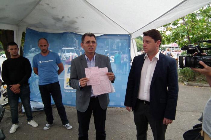 Petre Mureșan acuză primăria Satu Mare că tergiversează acordarea autorizațiilor pentru corturile ACL
