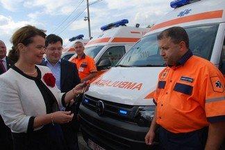 Satu Mare și alte 14 județe au primit ambulanțe noi de la Ministerul Sănătății