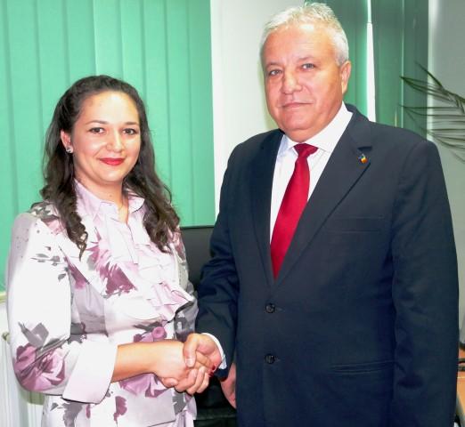 Maria Măgureanu, noul director al Inspectoratului Teritorial pentru Calitatea Seminţelor şi Materialului Săditor Satu Mare