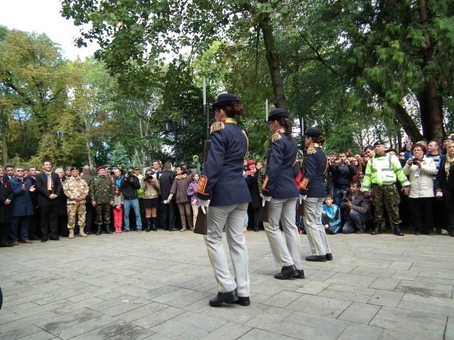 Exerciții militare în parcul Castelului Karolyi din Carei (Galerie foto)