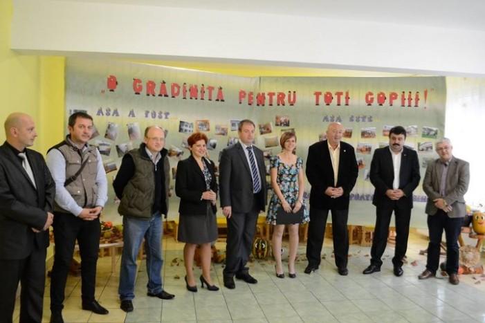 Au fost recepționate lucrările de reabilitare efectuate la GPP nr. 5 din Satu Mare