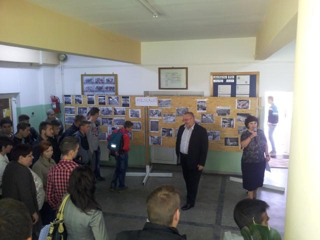 """""""Ziua Națională a Holocaustului"""", marcată la Colegiul Tehnic """"Unio-Traian Vuia"""" din Satu Mare"""