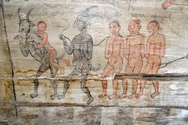 Biserica de lemn din Corund și alte lăcașuri de cult din România care adăpostesc icoane bizare