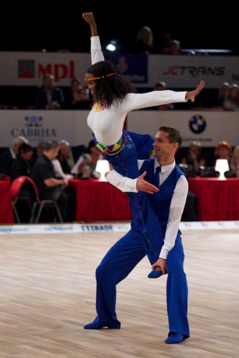 Marius Iepure a cucerit medalia de bronz la Mondialele de dans de la Ostrava
