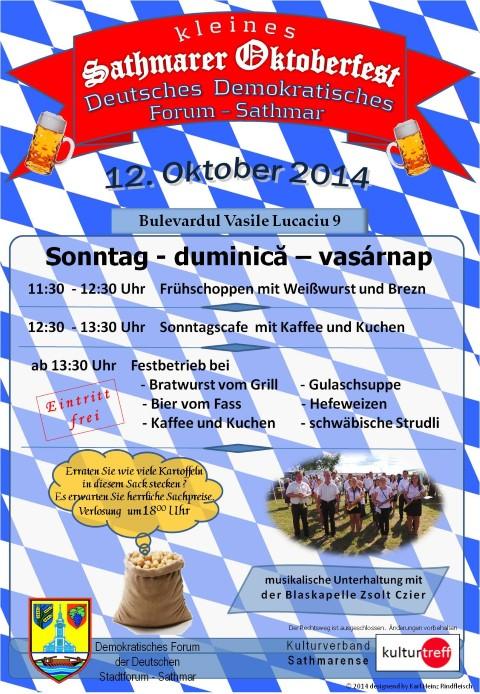 Micul Oktoberfest Sătmărean
