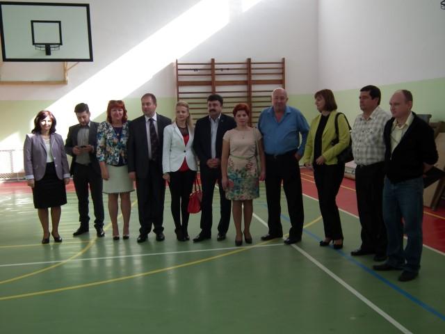 """S-au recepționat lucrările la sala de sport a Colegiului Tehnic """"Elisa Zamfirescu"""" din Satu Mare"""