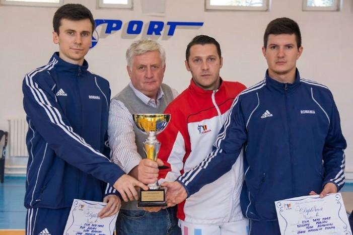 """CSM Satu Mare a câștigat """"Cupa României"""" la spadă, proba masculină pe echipe"""