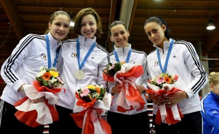 Simona Pop medaliată cu argint la proba pe echipe, în prima etapă de Cupă Mondială la spadă (Foto)