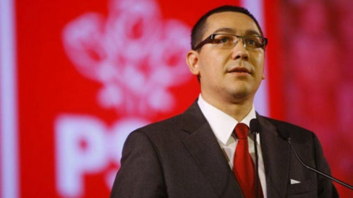 Victor Ponta se retrage din funcția de președinte al PSD