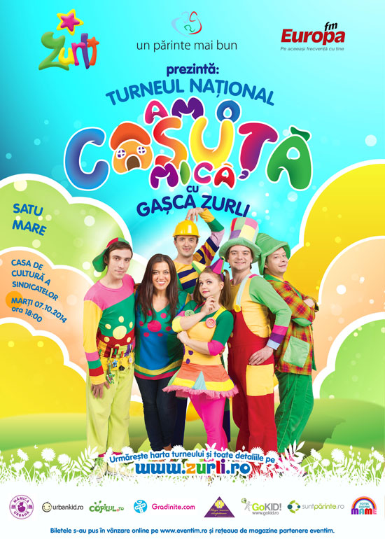 """Gașca Zurli"" va susține un spectacol la Satu Mare"