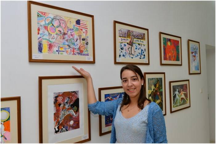 Alexandra Alb, locul II la Concursul Național de Arte Plastice