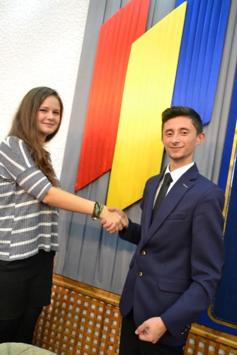 Mihaela Ban este noul președinte al Consiliului Județean al Elevilor Satu Mare