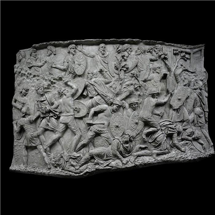 Vezi cele mai reușite imagini ale basoreliefurilor de pe Columna lui Traian (Galerie foto)