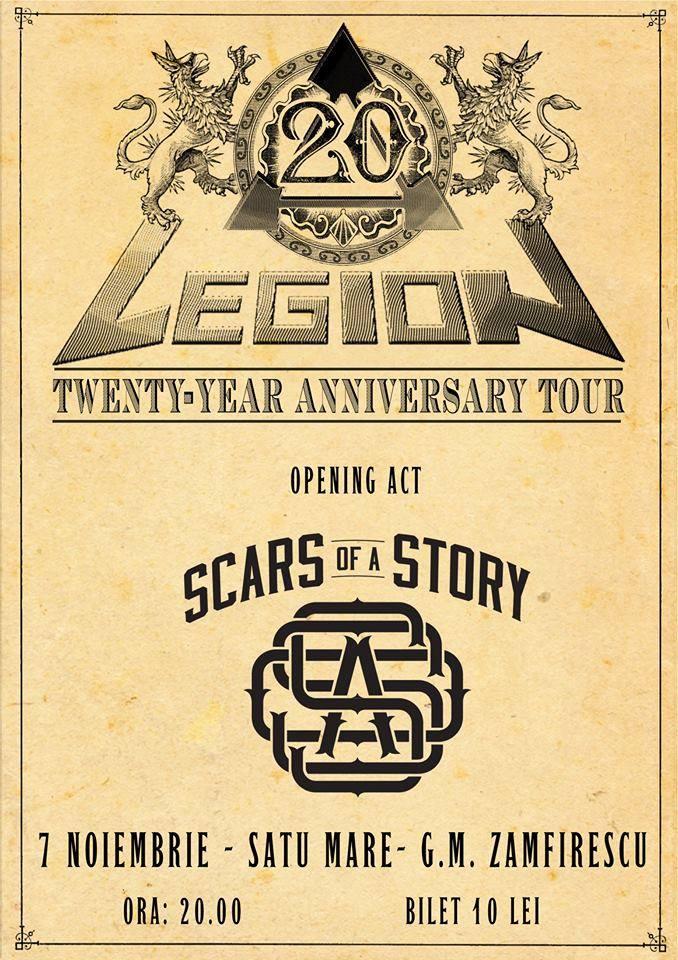 "Concert aniversar ""Legion"" – 20 de ani"