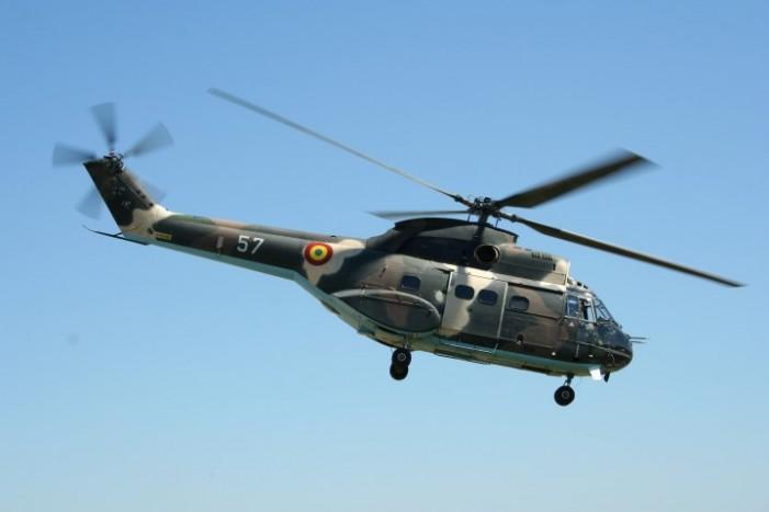 Un elicopter militar cu 10 persoane la bord s-a prăbușit în judeţul Sibiu. 8 oameni au murit şi 2 sunt răniţi