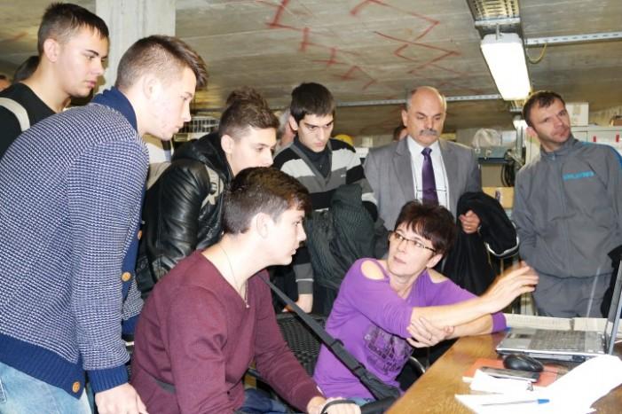 Participanții la Eurotehnicus 2014, au efectuat o vizită la Aquastar Satu Mare