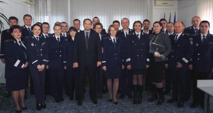 """""""Ziua Naţională a României"""", marcată la IPJ Satu Mare"""