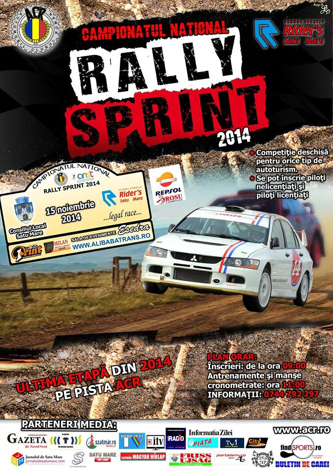 "Campionatul Național de ""Rally Sprint"", etapa a V-a"