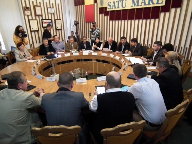 Ședință extraordinară la Consiliul Local Satu Mare
