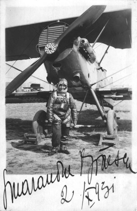 1930: Legenda parașutismului românesc, Smaranda Brăescu, a suferit un cumplit accident la Satu Mare