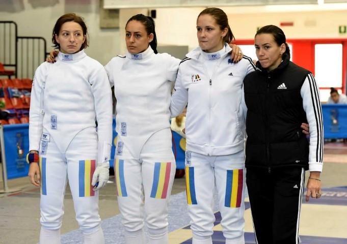 Simona Pop ocupă locul V, cu echipa României, în clasamentul Cupei Mondiale de spadă feminin seniori