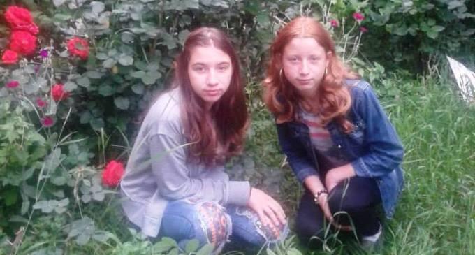 Surorile vitrege dispărute de acasă, au fost găsite de polițiști