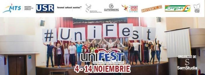 """Festivalul """"UNIFEST"""" Satu Mare, la a II-a ediție"""