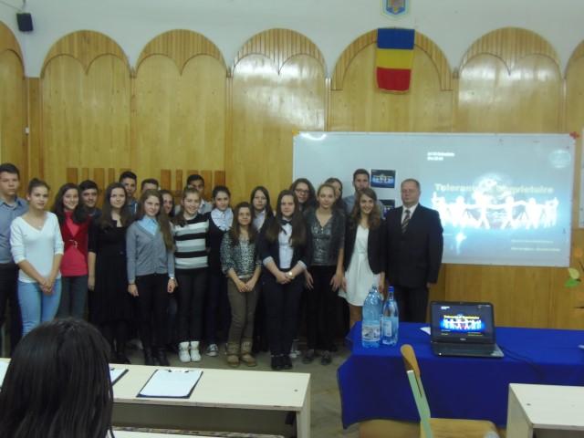 """""""Ziua Internaţională a Toleranţei"""", marcată la Colegiul Național """"Doamna Stanca"""""""