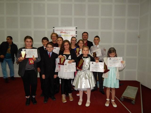 Pianiștii sătmăreni s-au impus la Concursul Național de la Vaslui