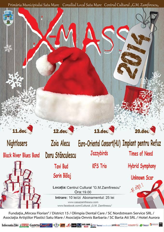 "Ultimul concert marca ""Christmas"" din acest an"