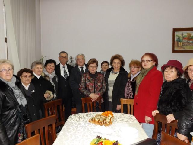 Colindători la Casa Județeană de Pensii Satu Mare