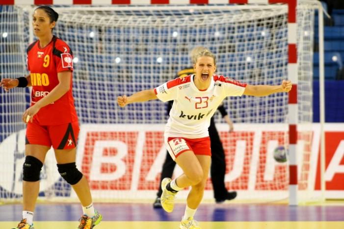 CE de handbal feminin: România va întâlni Ucraina, în ultima etapă a Grupei B