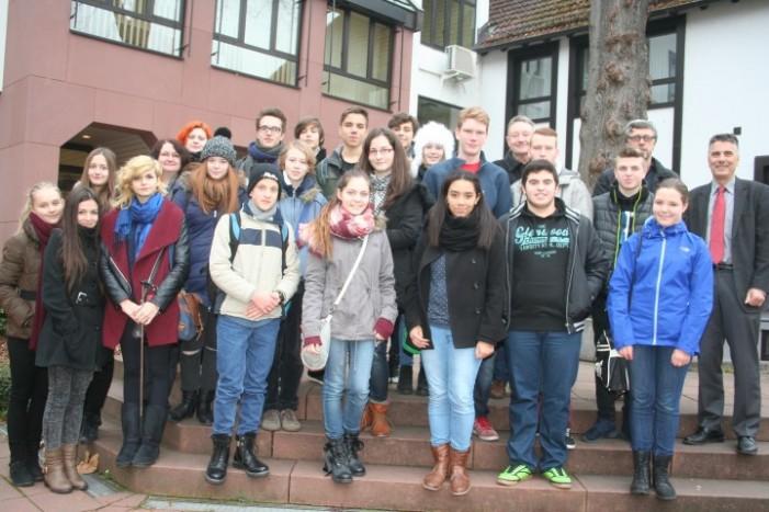 """Un grup de elevi de la Liceul """"Johann Ettinger"""", au făcut o vizită în Germania"""