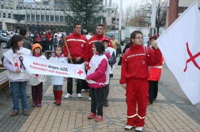 Marș de solidaritate cu bolnavii de SIDA