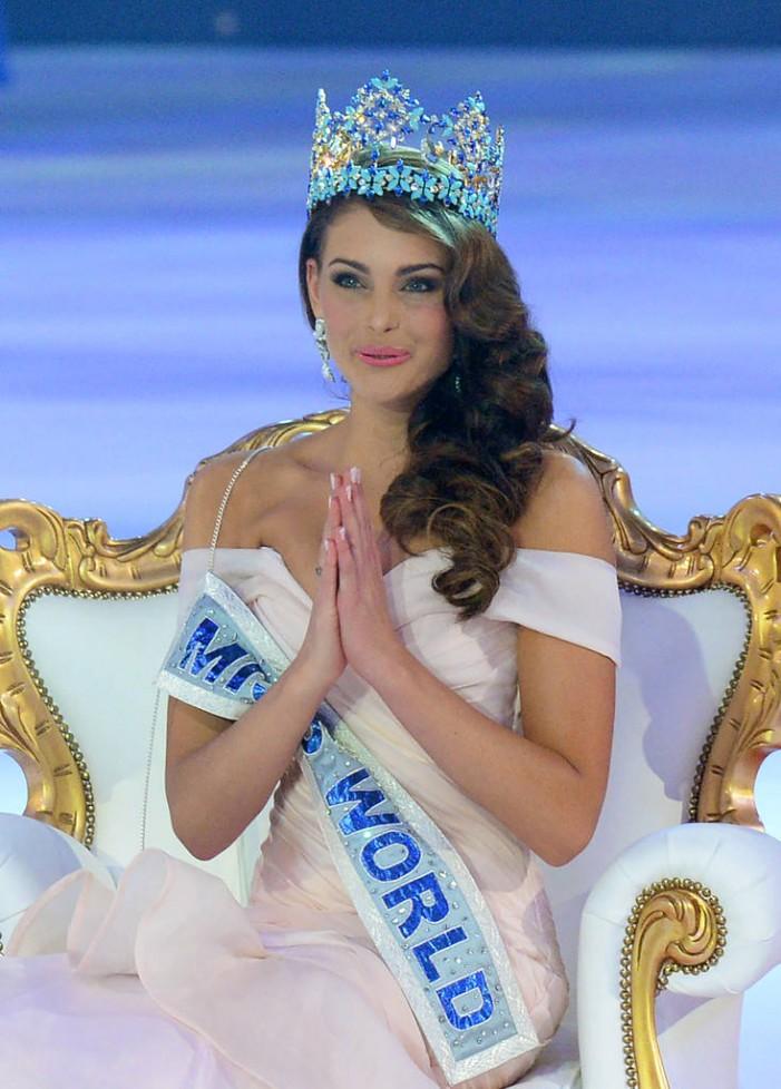 Rolene Stauss a câștigat concursul Miss World 2014