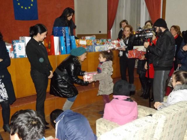 Moșul PLR s-a întâlnit cu copiii la Muzeul Județean Satu Mare
