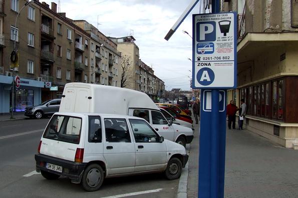 Parcare gratuită în Satu Mare pe perioada sărbătorilor de iarnă