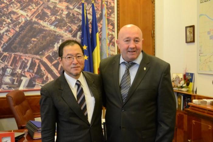 Diplomat japonez în vizită la Satu Mare
