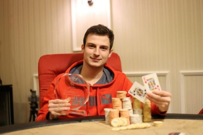 Sătmăreanul Vlad Darie, câștigătorul PokerFest Cluj, decembrie 2014