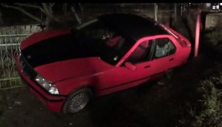 Un BMW înmatriculat în Satu Mare, implicat într-un accident în județul Bistrița-Năsăud