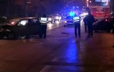 Trei mașini implicate într-un accident de pe B-dul Lucian Blaga din Satu Mare