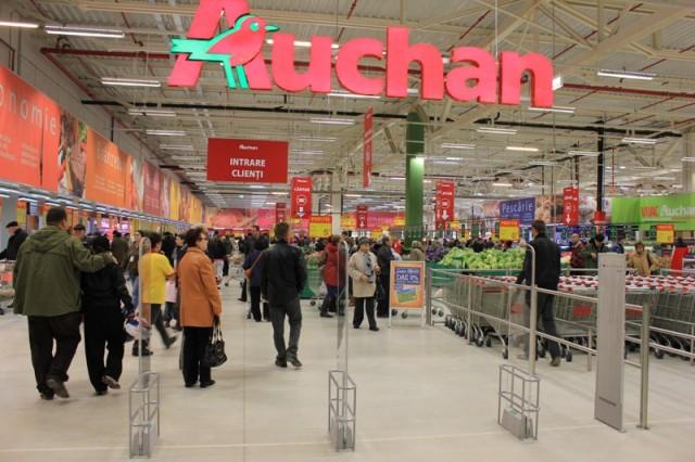 Auchan poate prelua 12 centre comerciale din România. Satu Mare este pe lista grupul francez
