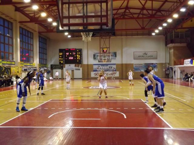 Baschet: CSM Satu Mare-Olimpia CSU Brașov 74-91