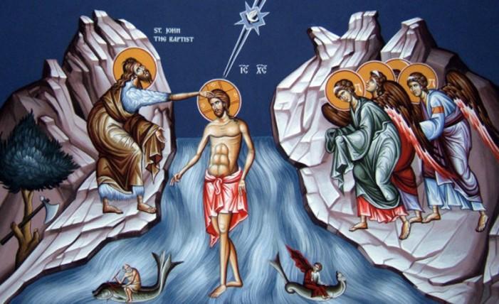 Boboteaza – Sărbătoarea Botezului Domnului