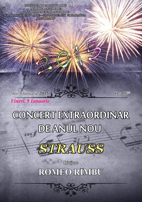 """Concert Extraordinar de Anul Nou la Filarmonica """"Dinu Lipatti"""""""