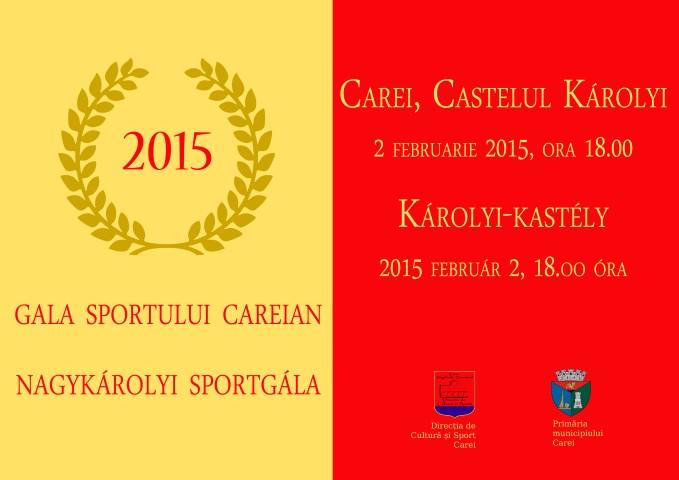 """""""Gala sportului careian"""", la a III-a ediție"""