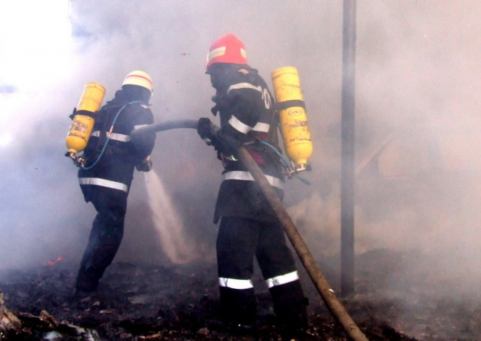 Explozie într-o brutărie din Tășnad. Două victime au ajuns la spital