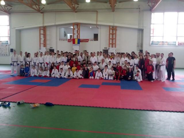Karateka din Carei au participat la un stagiu internațional de pregătire