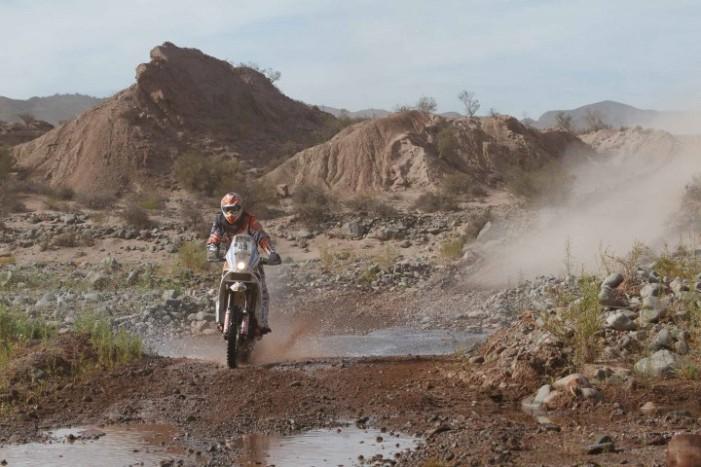 Dakar 2015: Trecerea prin Salar de Uyuni cel mai dur moment din Bolivia